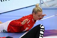 Stine Jørgensen fra Danmark under VM-playoff-kampen mellem Danmark og Schweiz i Roskilde Kongrescenter Bauhaus Arena, den 1.6.2019. Photo Credit: Allan Jensen/Søren Tidemann/EVENTMEDIA.