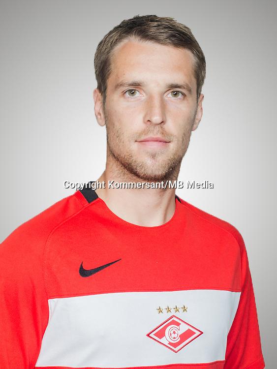 Portraits, Spartak Moscow, August 2016, Russian Premier League