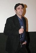 Foto di Donato Fasano Photoagency, nella foto : Checcozalone Luca Medici alla presentazione del film a Bari il 27 11 2009 titolo film cado dalle nubi