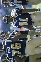 St.Louis Rams Torry Holt plays in a game against the Miami Dolphins.<br /> (Tom DiPace)