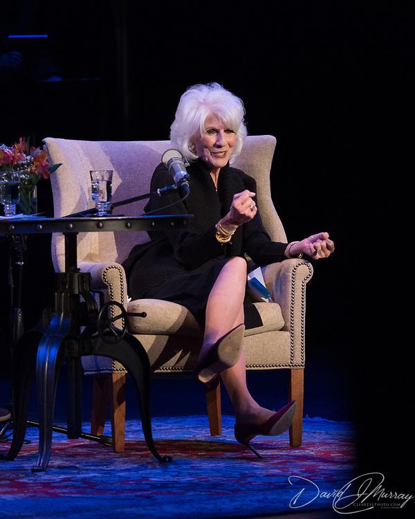 NHPR's Virginia Prescott interviews Diane Rehm at The Music Hall, May 2, 2017