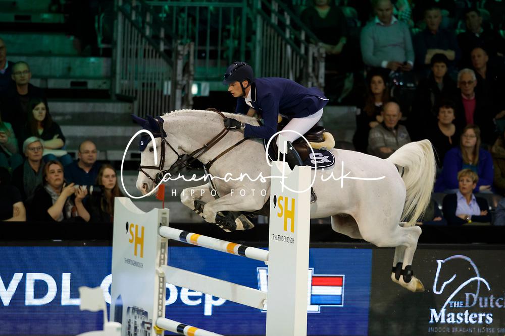 Deusser Daniel, GER, Cornet d'Amour<br /> The Dutch Masters<br /> Indoor Brabant - 's Hertogen bosch 2018<br /> © Hippo Foto - Dirk Caremans<br /> 09/03/2018