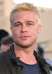 Jun 07, 2005; Westwood, CA, USA; Actor BRAD PITT at the world premiere of 'Mr. & Mrs. Smith' held at the Mann Village Theatre. Mandatory Credit: Photo by Rena Durham/KPA/ZUMA Press. (©) Copyright 2006 by Rena Durham