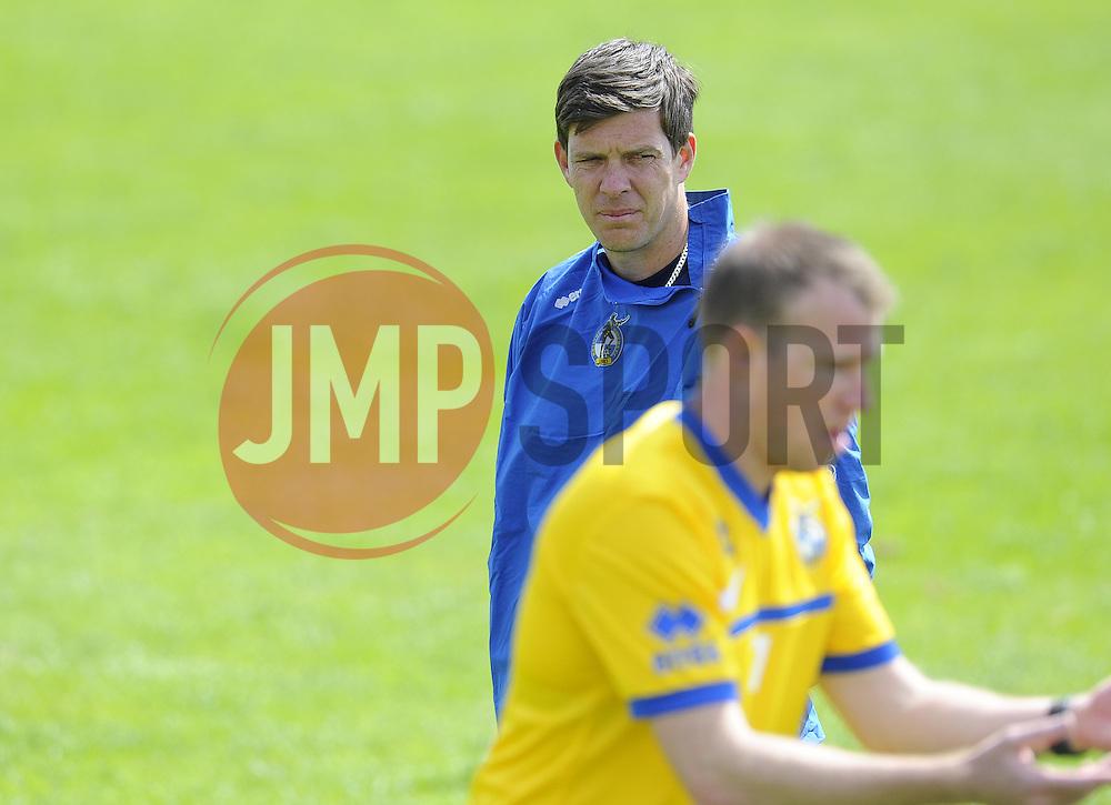 Bristol Rovers assistant manager, Darrell Clarke - Photo mandatory by-line: Joe Meredith/JMP - Tel: Mobile: 07966 386802 24/06/2013 - SPORT - FOOTBALL - Bristol -  Bristol Rovers - Pre Season Training - Npower League Two