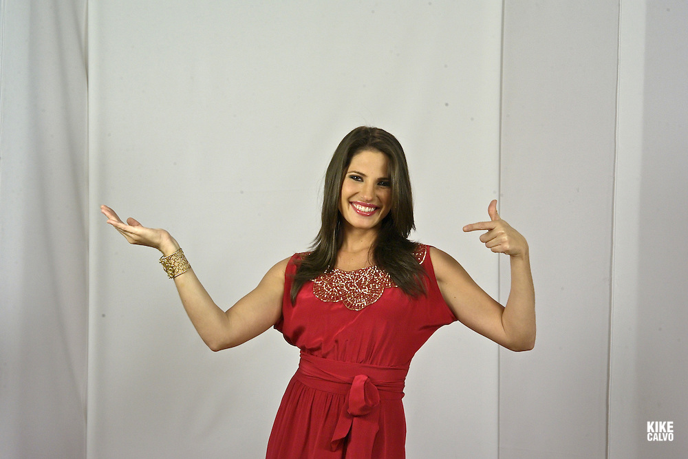 Journalist, TV personality and Avon image in Panama, Carolina Fabrega.