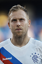 September 20, 2018 - Vila-Real, Castellon, Spain - Scott Arfield of Rangers looks on prior to the UEFA Europa League group G match between Villarreal CF and Rangers at Estadio de la Ceramica on September 20, 2018 in Vila-real, Spain  (Credit Image: © David Aliaga/NurPhoto/ZUMA Press)