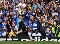 28.08.2010, Stamford Bridge, London, ENG, PL, Chelsea FC vs Stoke City, im Bild Florent Malouda of Chelsea  celebrates his goal, EXPA Pictures © 2010, PhotoCredit: EXPA/ IPS/ M. Pozzetti *** ATTENTION *** UK AND FRANCE OUT! / SPORTIDA PHOTO AGENCY