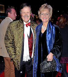 Tim Wonnacott and Helen Wonnacott attend White Christmas Press Night at The Dominion Theatre, Tottenham Court Road, London on Wednesday 12 November 2014