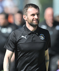 NATHAN JONES MANAGER LUTON TOWN, Barnet v Luton Town EFL Sky Bet League 2 The Hive, Saturday 8th April 2017, Score 0-1<br /> Photo:Mike Capps