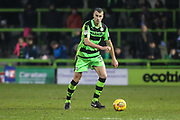 Forest Green Rovers Haydn Hollis(32) on the ball during the EFL Sky Bet League 2 match between Forest Green Rovers and Cambridge United at the New Lawn, Forest Green, United Kingdom on 20 January 2018. Photo by Shane Healey.