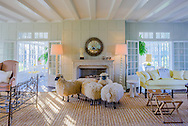 Flock of Sheep, Further Ln, East Hampton, NY, summer home of Jacqueline Kennedy Onassis