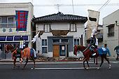 Soma Nomaoi festival in Minami Soma - Fukushima, Japan.
