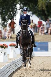 Van Der Putten Marieke, (NED), Four Legends<br /> First Qualifying Competition 5year old horses<br /> World Championship Young Dressage Horses - Verden 2015<br /> © Hippo Foto - Dirk Caremans<br /> 06/08/15