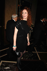 REBEKAH WADE at the 17th annual Cartier Racing Awards 2007 held at the Four Seasons Hotel, Hamilton Place, London on 14th November 2007.<br /><br />NON EXCLUSIVE - WORLD RIGHTS