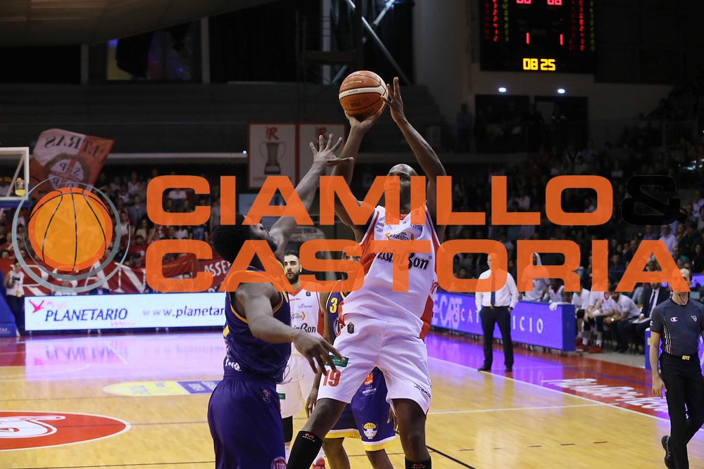 Williams Jawad<br /> Grissin Bon Reggio Emilia - Fiat Torino<br /> Lega Basket Serie A 2016/2017<br /> Reggio Emilia 15/04/2017<br /> Foto Ciamillo-Castoria