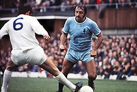 Ernie Hunt (Coventry City) Norman Hunter (Leeds) Coventry City v Leeds United 9/10/1971 Credit : Colorsport