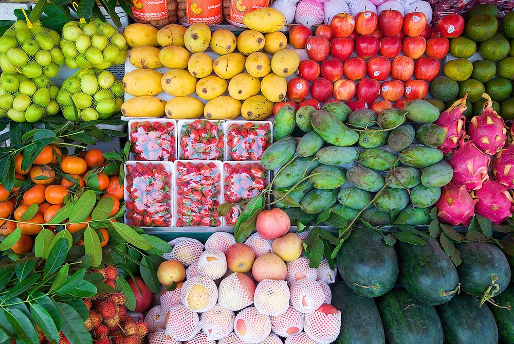 Fresh fruits, Hanoi, Vietnam.