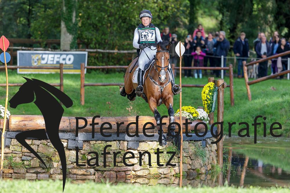 SANDERSON Yasmin Nathalie ((NOR), INCHELLO DHI<br /> Le Lion d'Angers - FEI Eventing World Breeding Championship 2019<br /> Teilprüfung Cross-Country 6 jährige<br /> 19. Oktober 2019<br /> © www.sportfotos-lafrentz.de/Stefan Lafrentz