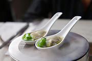 China, Hong Kong S.A.R..Bo Innovation - X-treme Chinese Cuisine..OYSTER.spring onion, lime, ginger sonow, parfum du hong kong