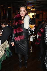 ELENA ORA sister of Rita Ora at a birthday party for Kyle De'Volle hosted by Rita Ora at Bo Lang, 100 Draycott Avenue, London SW3 on 29th November 2013.