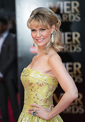 The Laurence Olivier Awards - Red Carpet Arrivals. Leigh Zimmerman attends The Laurence Olivier Awards at the Royal Opera House, London, United Kingdom. Sunday, 13th April 2014. Picture by Daniel Leal-Olivas / i-Images