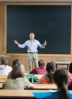 Professor giving a lecture
