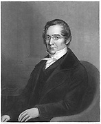 Joseph Louis Gay-Lussac (1778-1850) French chemist and physicist. From Sheridan Muspratt 'Chemistry', William Mackenzie, London c1850. Engraving