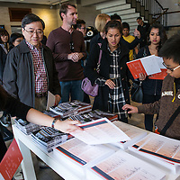Visitors attend the SCAD Open Day in Hong Kong on 26 January 2013. Photo by Emeline Hui / illume visuals