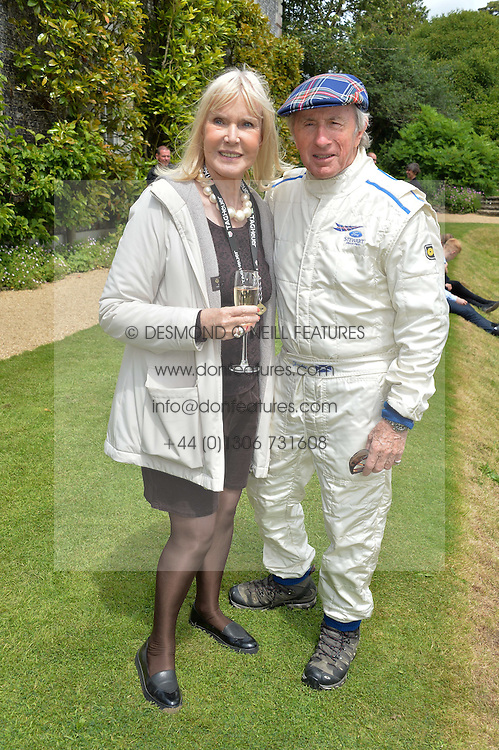 SIR JACKIE & LADY STEWART at the Cartier hosted Style et Lux at The Goodwood Festival of Speed at Goodwood House, West Sussex on 26th June 2016.