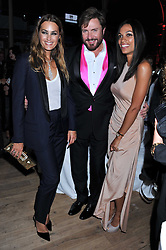 SIMON & YASMIN LE BON and ROSARIO DAWSON at the GQ Men of the Year 2011 Awards dinner held at The Royal Opera House, Covent Garden, London on 6th September 2011.