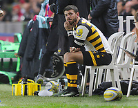 Rugby Union - 2016 / 2017 Aviva Premiership - Harlequins vs. Wasps<br /> <br /> Willie le Roux at Wasps is sent to the 'sin bin' after receiving the yellow card at The Stoop.<br /> <br /> COLORSPORT/ANDREW COWIE
