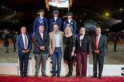 Power Katie, IRL, Morgan Red, GBR, Lockhead Anderson Nicole, GBR<br /> Vlaanderens Kerstjumping - Memorial Eric Wauters - Mechelen 2018<br /> © Hippo Foto - Dirk Caremans<br /> 30/12/2018