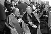 1961 - Patrician Year celebrations: Cardinal Legate at garden party in Blackrock