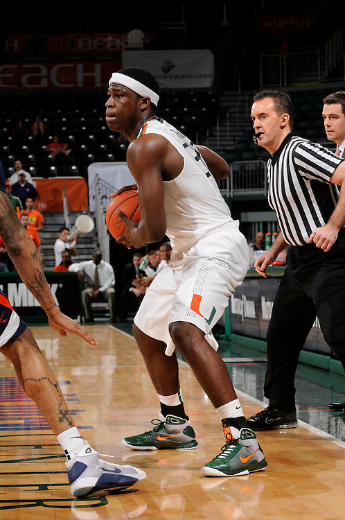 2010 Miami Hurricanes Men's Basketball vs Virginia
