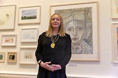 First Woman President of the Royal Scottish Academy , Edinburgh, 6 December 2018