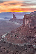 Sunset from Island in the Sky Canyonlands National Park