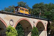 Nerobergbahn, Nerotal, Wiesbaden, Hessen, Deutschland | Nerobergbahn, cable railway, Nerotal, Wiesbaden, Hesse, Germany