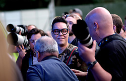 Party At The Palace, Saturday 11th August 2018<br /> <br /> Pictured: Gok Wan was spotted in the photographer's pit during Gabrielle's performance<br /> <br /> Aimee Todd | Edinburgh Elite media