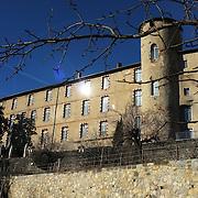Palais des Eveques, Saint-Lizier, Pays Couserans, Ariege, Pyrenees, France.