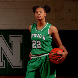 Newman Girls Basketball Portraits