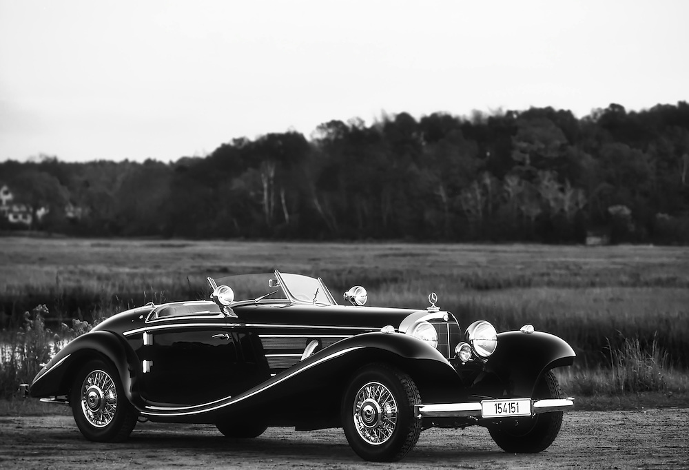 1937 MB540K Special Roadster<br /> In February 1937 stood this<br /> Mercedes-Benz 540K Special Roadster<br /> at the Berlin Car and Bike exhibition.<br /> 75 years later it is one of the world's most valuable Mercedes.