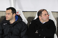 Pablo CORREA / Vincent HOGNON  - 06.03.2015 - Nancy / Laval - 27eme journee de Ligue 2 <br />