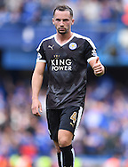 Danny Drinkwater of Leicester City during the Barclays Premier League match against Chelsea at Stamford Bridge, London<br /> Picture by Andrew Timms/Focus Images Ltd +44 7917 236526<br /> 14/05/2016