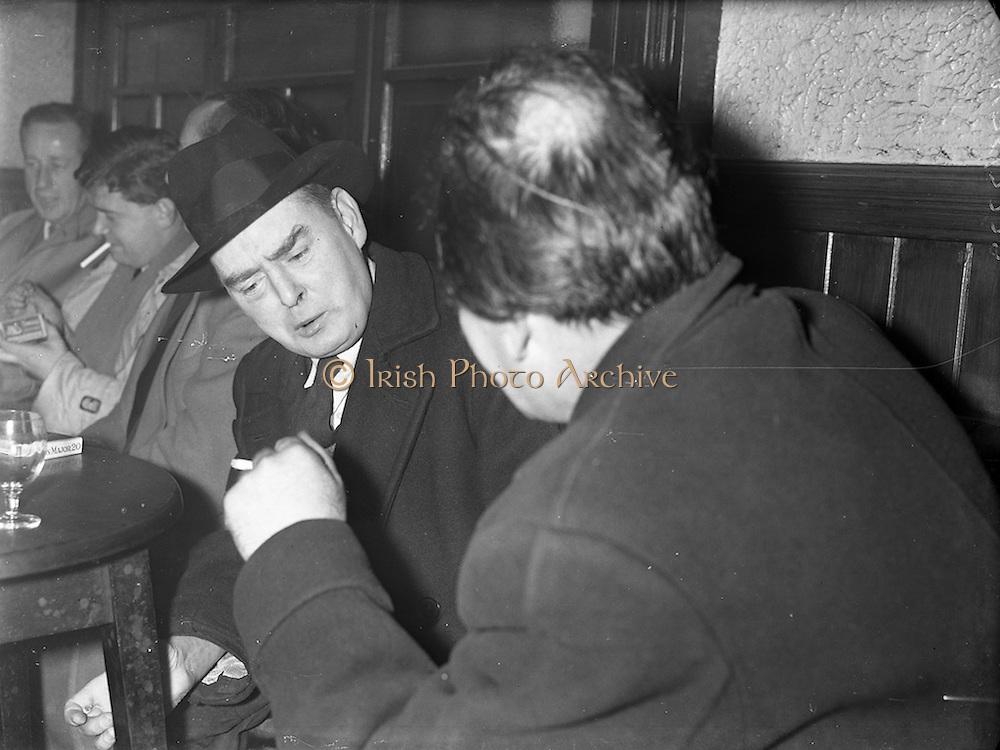 19/12/1960<br /> 12/19/1960<br /> 19 December 1960<br /> Author Myles na gCopaleen (Brian O'Nolan and Flann O'Brien), interviewed by Jim Gilbert, editor of Development Magazine.