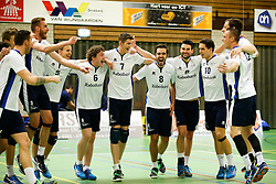 20170125 NED: Beker, Sliedrecht Sport - Seesing Personeel Orion: Sliedrecht<br />Vreugde voor aanvang bij spelers Sliedrecht Sport <br />©2017-FotoHoogendoorn.nl / Pim Waslander