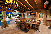 Custom Outdoor Living with Covered Patio