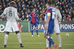 November 22, 2017 - Basel, BS, Schweiz - Basel, Fussball UEFA Champions League, FC Basel - Manchester United. 22.11. 2017. Basels Luca Zuffi  (Credit Image: © Daniel Teuscher/EQ Images via ZUMA Press)