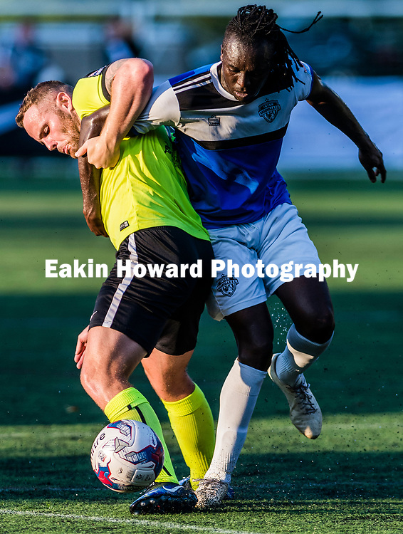 asheville City Soccer Club lost to Inter Nasheville Football Club at Memorial Stadium on July 8, 2017.