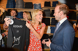 CHRISSIE REEVES and MAX DUNDAS at a party to celebrate the paperback lauch of The Stylist by Rosie Nixon hosted by Donna Ida at her store at 106 Draycott Avenue, London on 17th August 2016.