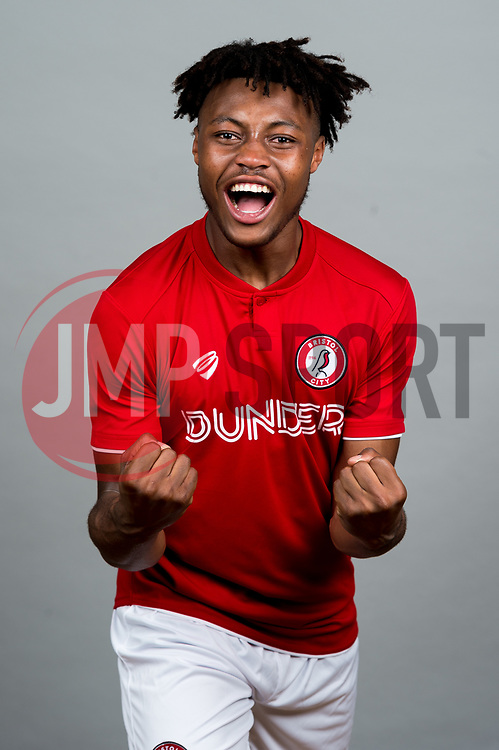Antoine Semenyo  - Ryan Hiscott/JMP - 27/06/2019 - SPORT - Bristol City Training Ground - Bristol, England - Bristol City Media Day
